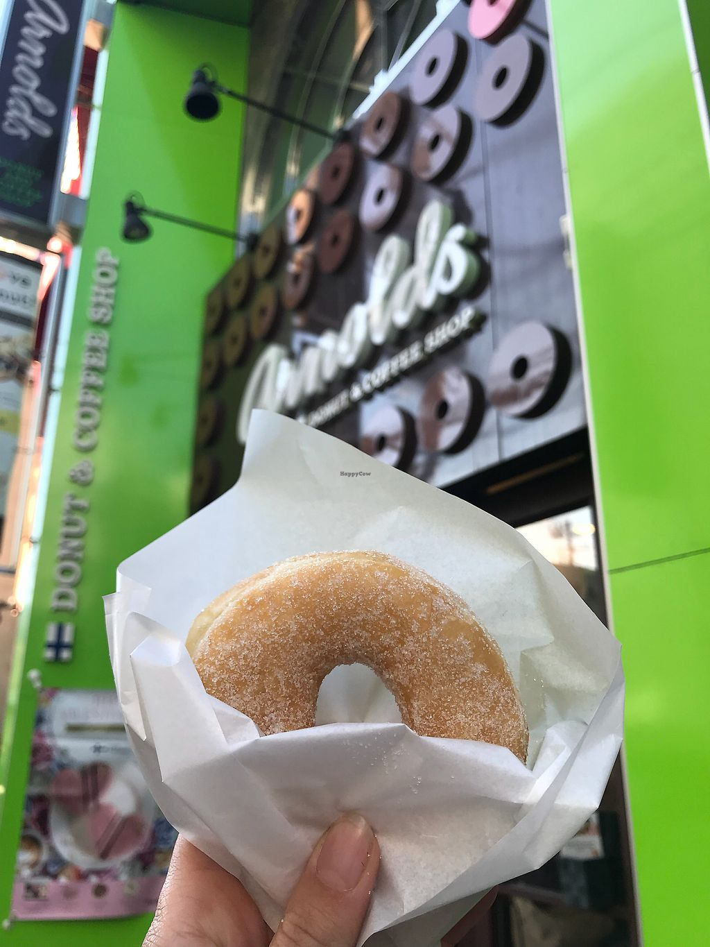 "Photo of Arnolds  by <a href=""/members/profile/MelissaW"">MelissaW</a> <br/>Sugar donut <br/> January 30, 2018  - <a href='/contact/abuse/image/87925/352691'>Report</a>"
