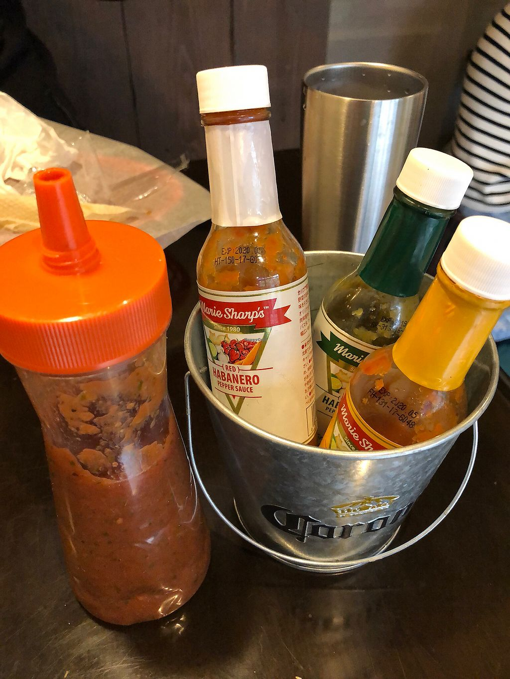 "Photo of Que Pasa  by <a href=""/members/profile/philblais"">philblais</a> <br/>Amazing selection of hot sauces including a homemade salsa <br/> November 29, 2017  - <a href='/contact/abuse/image/87926/330311'>Report</a>"