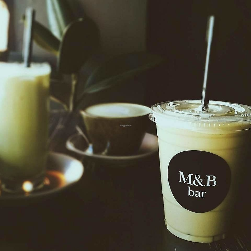 "Photo of M&B Bar  by <a href=""/members/profile/karlaess"">karlaess</a> <br/>smoothies and coffee <br/> March 8, 2018  - <a href='/contact/abuse/image/87973/368284'>Report</a>"