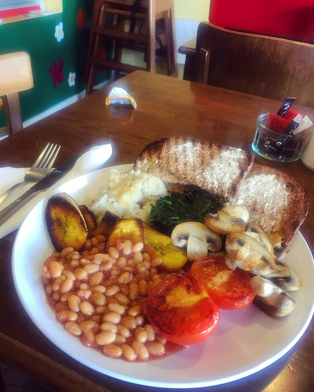 """Photo of Frangipani Cafe  by <a href=""""/members/profile/EllenM"""">EllenM</a> <br/>Vegan brunch  <br/> September 3, 2017  - <a href='/contact/abuse/image/87979/300413'>Report</a>"""