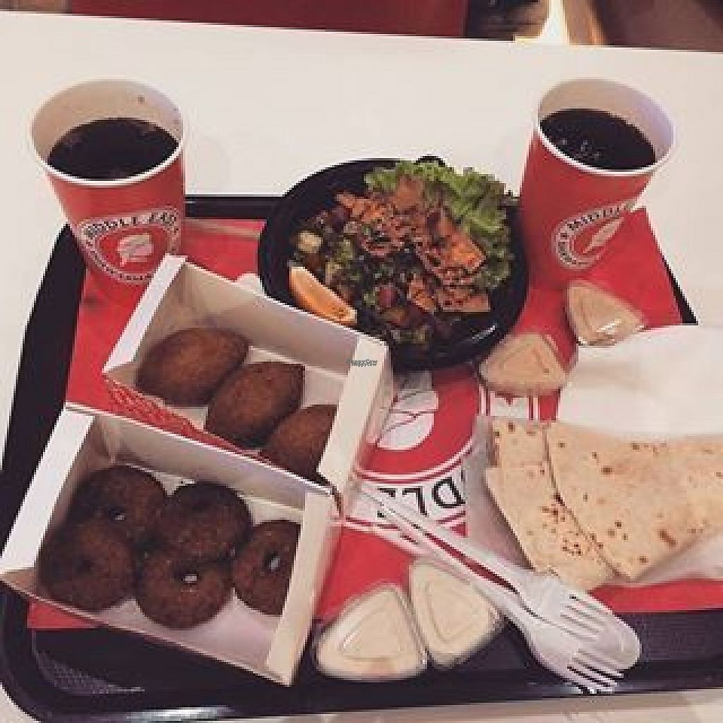 "Photo of CLOSED: Middle East Shawarma & Grill  by <a href=""/members/profile/Nilufarkarimli"">Nilufarkarimli</a> <br/>veg options <br/> March 12, 2017  - <a href='/contact/abuse/image/87989/235417'>Report</a>"