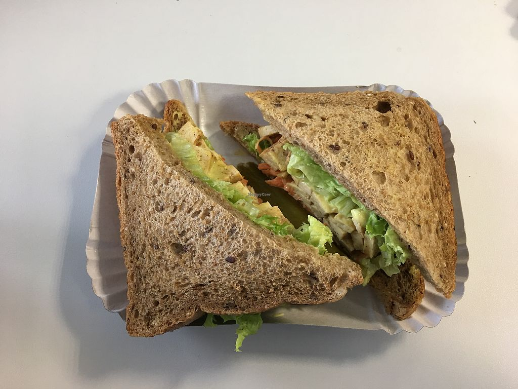 "Photo of Kosher Food Lovers - Food Truck  by <a href=""/members/profile/AndyT"">AndyT</a> <br/>Tofu pastrami sandwich <br/> April 13, 2018  - <a href='/contact/abuse/image/87992/385012'>Report</a>"