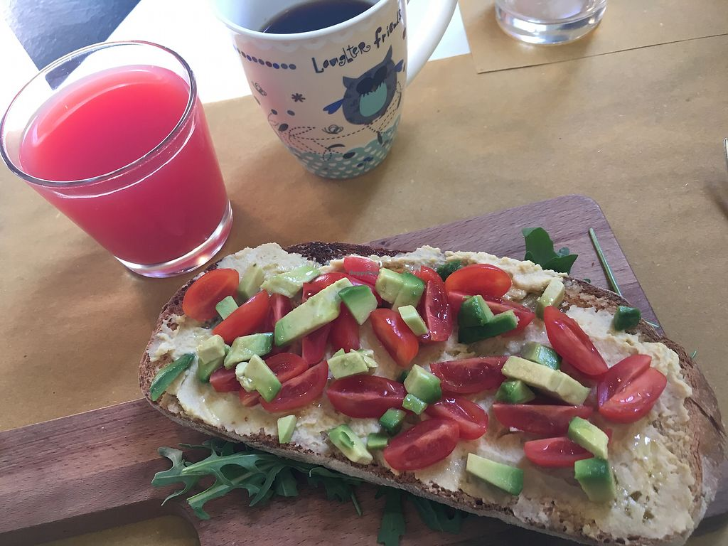 """Photo of Grinder Coffee Lab  by <a href=""""/members/profile/vegan.lisa"""">vegan.lisa</a> <br/>vegan brunch  <br/> June 26, 2017  - <a href='/contact/abuse/image/87993/273608'>Report</a>"""