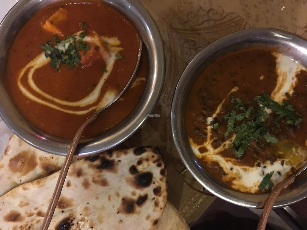 "Photo of Delhi Darbar  by <a href=""/members/profile/tcsengusz"">tcsengusz</a> <br/>Dal and Indian cheese dish with Indian flatbreads <br/> March 3, 2017  - <a href='/contact/abuse/image/88012/232158'>Report</a>"