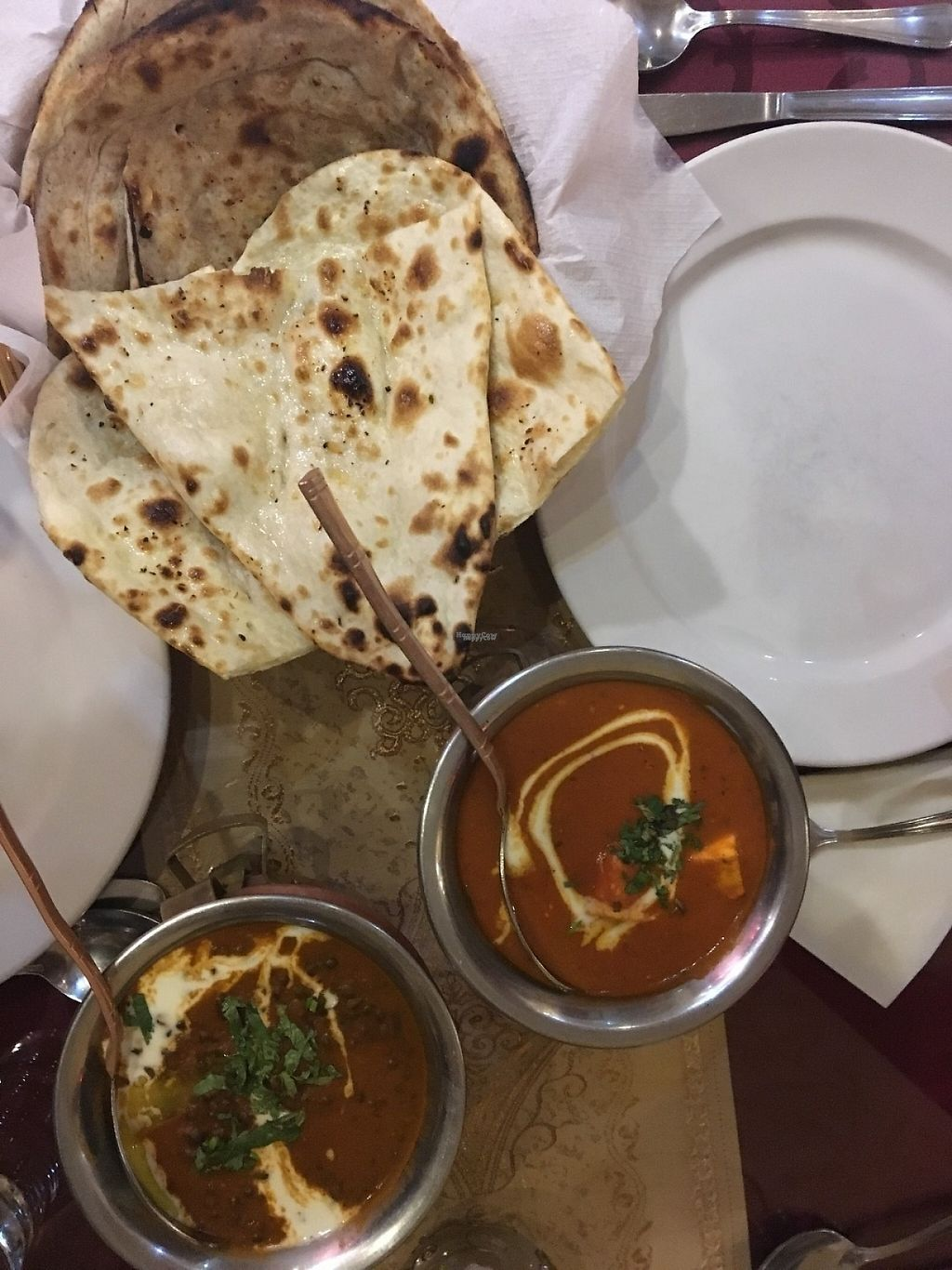 "Photo of Delhi Darbar  by <a href=""/members/profile/tcsengusz"">tcsengusz</a> <br/>Dal and Indian cheese dish with Indian flatbreads <br/> March 3, 2017  - <a href='/contact/abuse/image/88012/232159'>Report</a>"