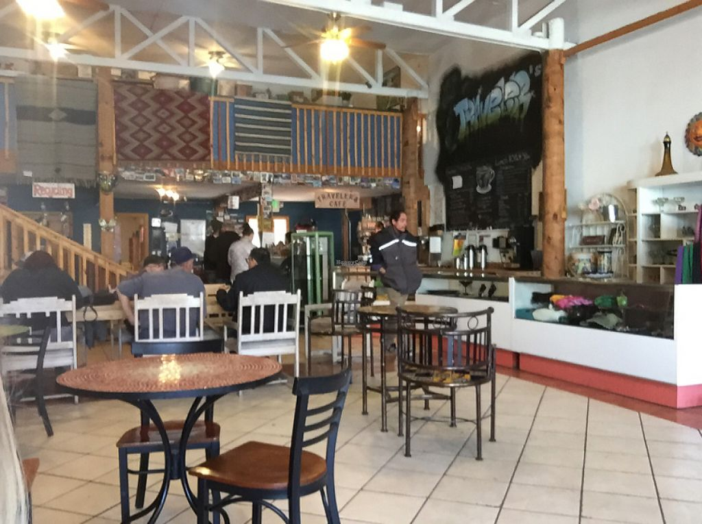 """Photo of Traveler's Cafe  by <a href=""""/members/profile/madznemo"""">madznemo</a> <br/>café setting <br/> March 3, 2017  - <a href='/contact/abuse/image/88049/232257'>Report</a>"""