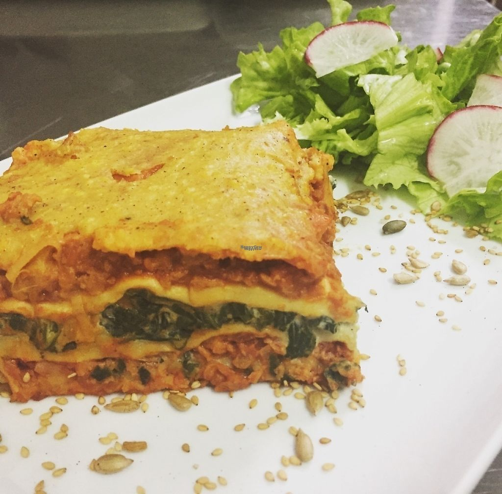 """Photo of Vegan Joe's  by <a href=""""/members/profile/VeganJoes"""">VeganJoes</a> <br/>Double Layered Lasagna.  <br/> March 13, 2017  - <a href='/contact/abuse/image/88051/235977'>Report</a>"""