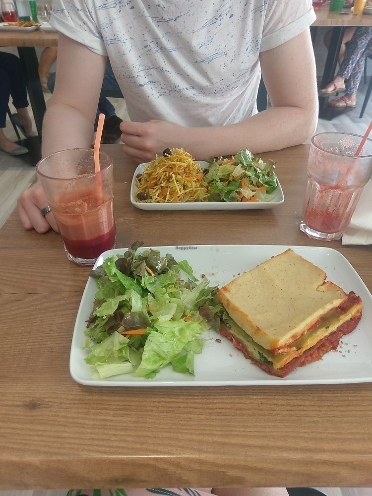 """Photo of Vegan Joe's  by <a href=""""/members/profile/Will%26Josie"""">Will&Josie</a> <br/>great food <br/> June 8, 2017  - <a href='/contact/abuse/image/88051/266976'>Report</a>"""