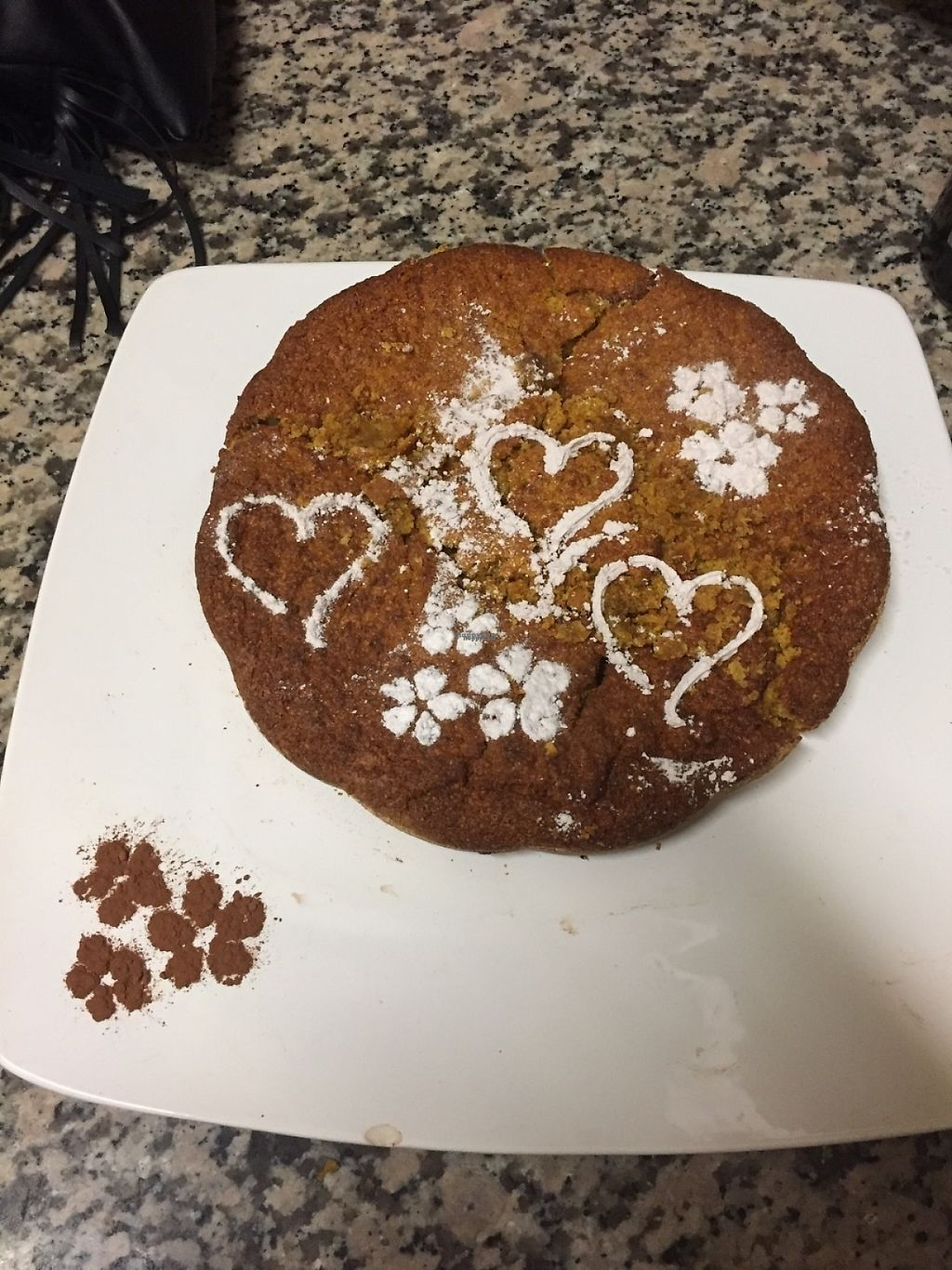 """Photo of Hotel Rovere  by <a href=""""/members/profile/ssarad"""">ssarad</a> <br/>Vegan cake (carrot, coconut and almonds)  <br/> March 24, 2017  - <a href='/contact/abuse/image/88052/240305'>Report</a>"""