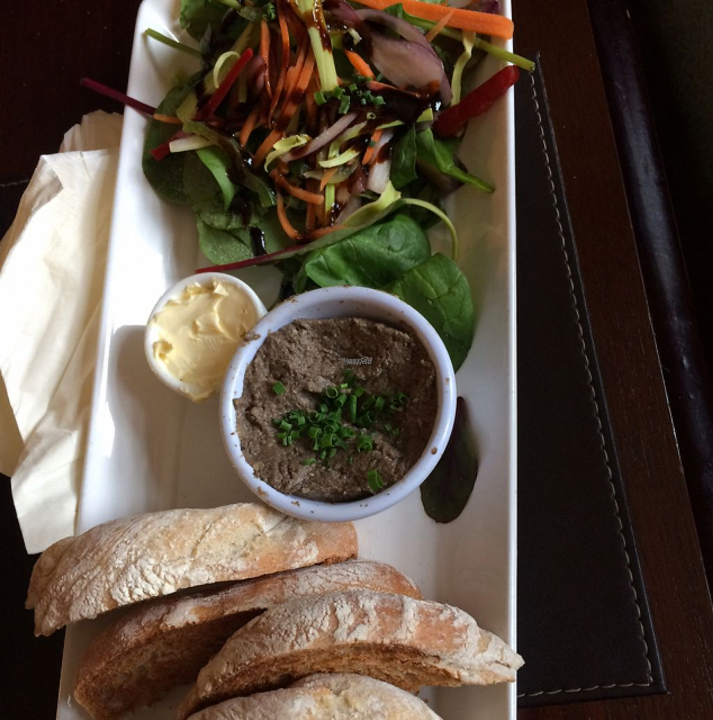 """Photo of The Castle Inn   by <a href=""""/members/profile/TinaDipi"""">TinaDipi</a> <br/>mushroom pate  <br/> April 7, 2017  - <a href='/contact/abuse/image/88054/245487'>Report</a>"""