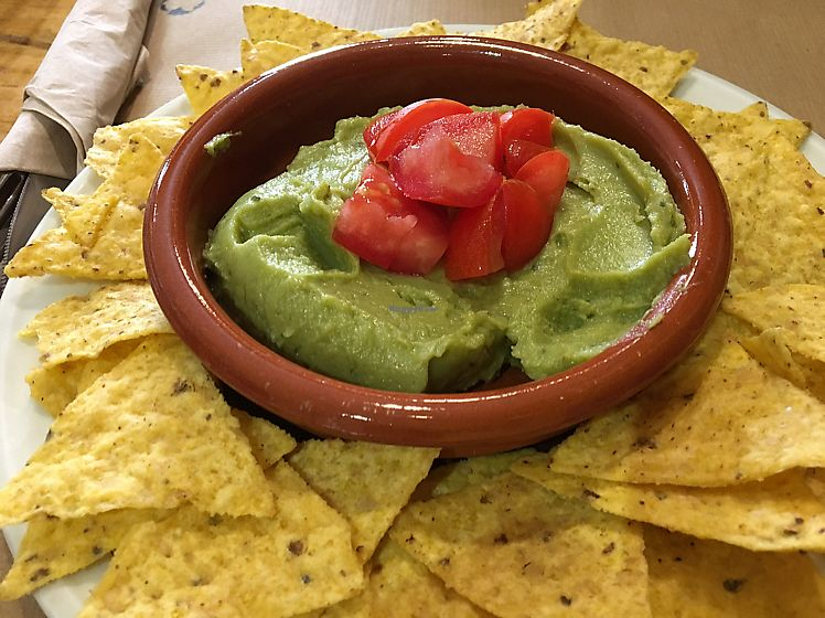 """Photo of Green Zone Bio Bar  by <a href=""""/members/profile/Vegangypsy"""">Vegangypsy</a> <br/>guacamole and nachos  <br/> June 14, 2017  - <a href='/contact/abuse/image/88068/268889'>Report</a>"""