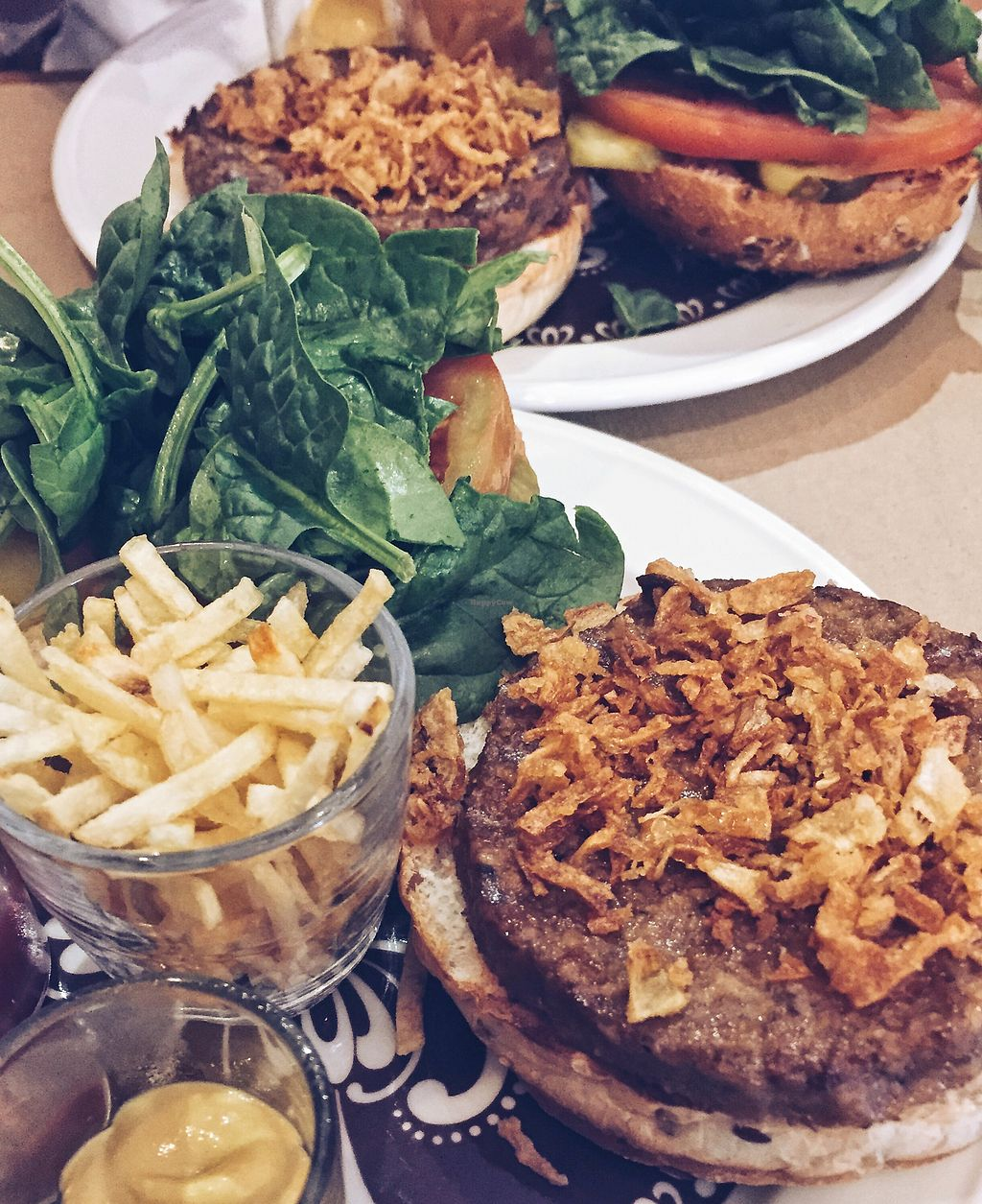 """Photo of Green Zone Bio Bar  by <a href=""""/members/profile/guillehdezp"""">guillehdezp</a> <br/>vegan burgers <br/> August 14, 2017  - <a href='/contact/abuse/image/88068/292736'>Report</a>"""