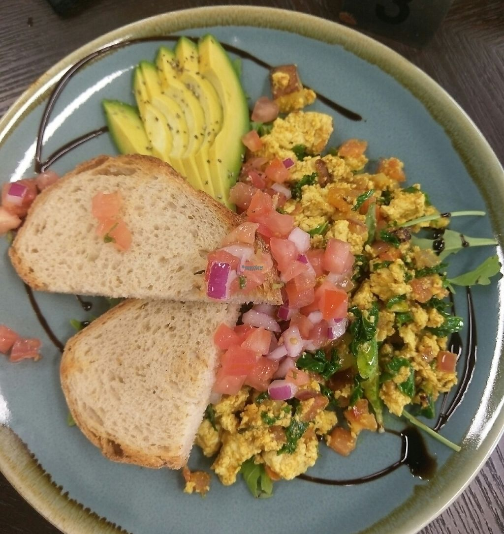 "Photo of Evolve Cafe  by <a href=""/members/profile/charmagama"">charmagama</a> <br/>scrambled tofu breakfast  <br/> March 4, 2017  - <a href='/contact/abuse/image/88080/252337'>Report</a>"