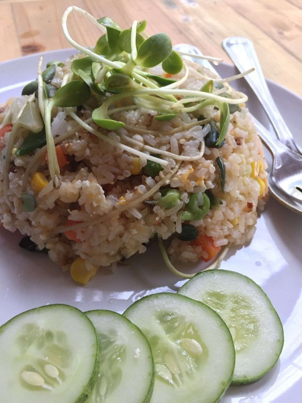 "Photo of Tofu  by <a href=""/members/profile/JuliaAnna"">JuliaAnna</a> <br/>Fried rice with vegetables.  <br/> March 5, 2017  - <a href='/contact/abuse/image/88087/232899'>Report</a>"