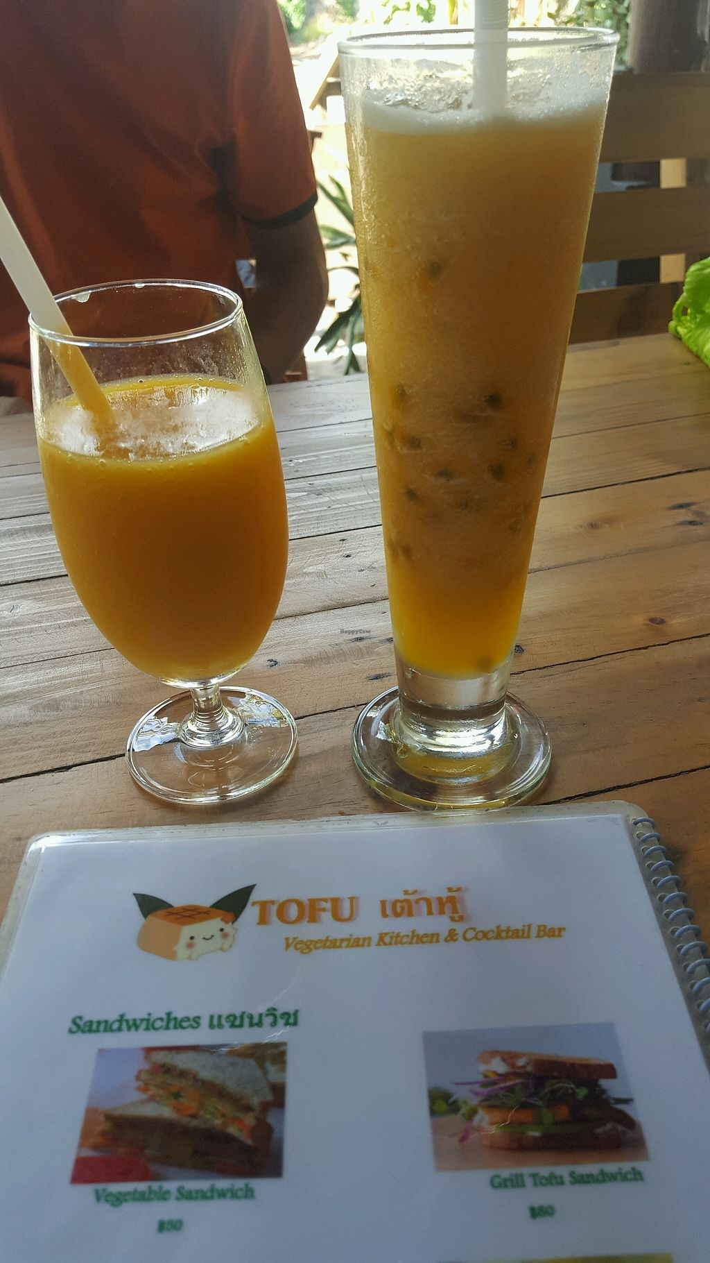 "Photo of Tofu  by <a href=""/members/profile/GosiaDF"">GosiaDF</a> <br/>Mango and passion shake  <br/> December 2, 2017  - <a href='/contact/abuse/image/88087/331365'>Report</a>"