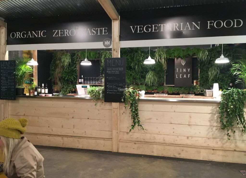 """Photo of Tiny Leaf  by <a href=""""/members/profile/TINYLEAFLONDON"""">TINYLEAFLONDON</a> <br/>Tiny Leaf shack at Mercato Metropolitano <br/> March 5, 2017  - <a href='/contact/abuse/image/88105/232990'>Report</a>"""