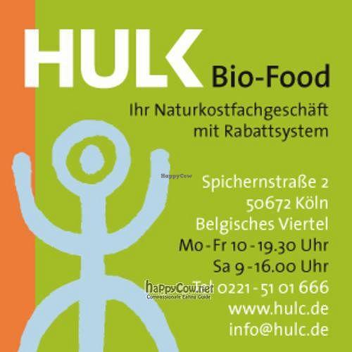 "Photo of HULC Bio-Food  by <a href=""/members/profile/Erik%20Hirschhaeuser"">Erik Hirschhaeuser</a> <br/> April 6, 2011  - <a href='/contact/abuse/image/8810/8111'>Report</a>"
