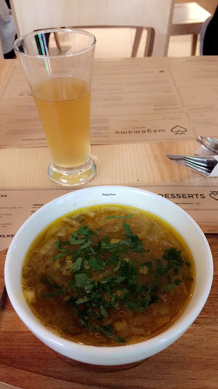 """Photo of Wegeguru  by <a href=""""/members/profile/Krysaussie"""">Krysaussie</a> <br/>Kombucha and quinoa soup  <br/> September 7, 2017  - <a href='/contact/abuse/image/88127/301815'>Report</a>"""