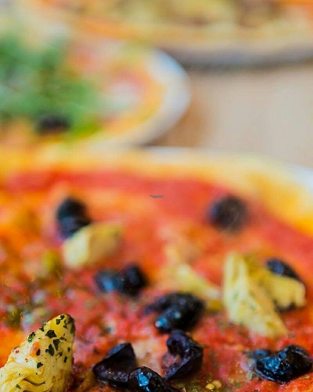 """Photo of Pizzeria Bellini  by <a href=""""/members/profile/MarcusViechK%C3%B6sters"""">MarcusViechKösters</a> <br/>Pizza with olives and artichokes  <br/> March 7, 2017  - <a href='/contact/abuse/image/88159/233784'>Report</a>"""