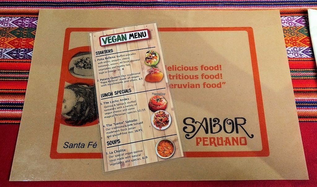 "Photo of Sabor Peruano  by <a href=""/members/profile/bduboff"">bduboff</a> <br/>Peruvian @ DeVargas Mall <br/> March 5, 2017  - <a href='/contact/abuse/image/88160/233182'>Report</a>"