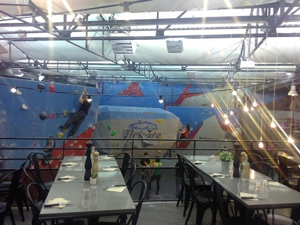 """Photo of Arkose Restaurant  by <a href=""""/members/profile/srfk"""">srfk</a> <br/>View from terrasse <br/> March 8, 2017  - <a href='/contact/abuse/image/88188/234334'>Report</a>"""
