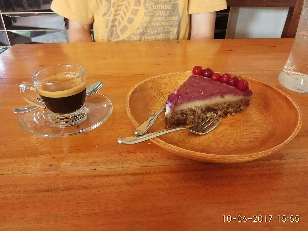 """Photo of Shaka  by <a href=""""/members/profile/GeckoHeaven"""">GeckoHeaven</a> <br/>vegan cheesecake <br/> June 12, 2017  - <a href='/contact/abuse/image/88198/268274'>Report</a>"""