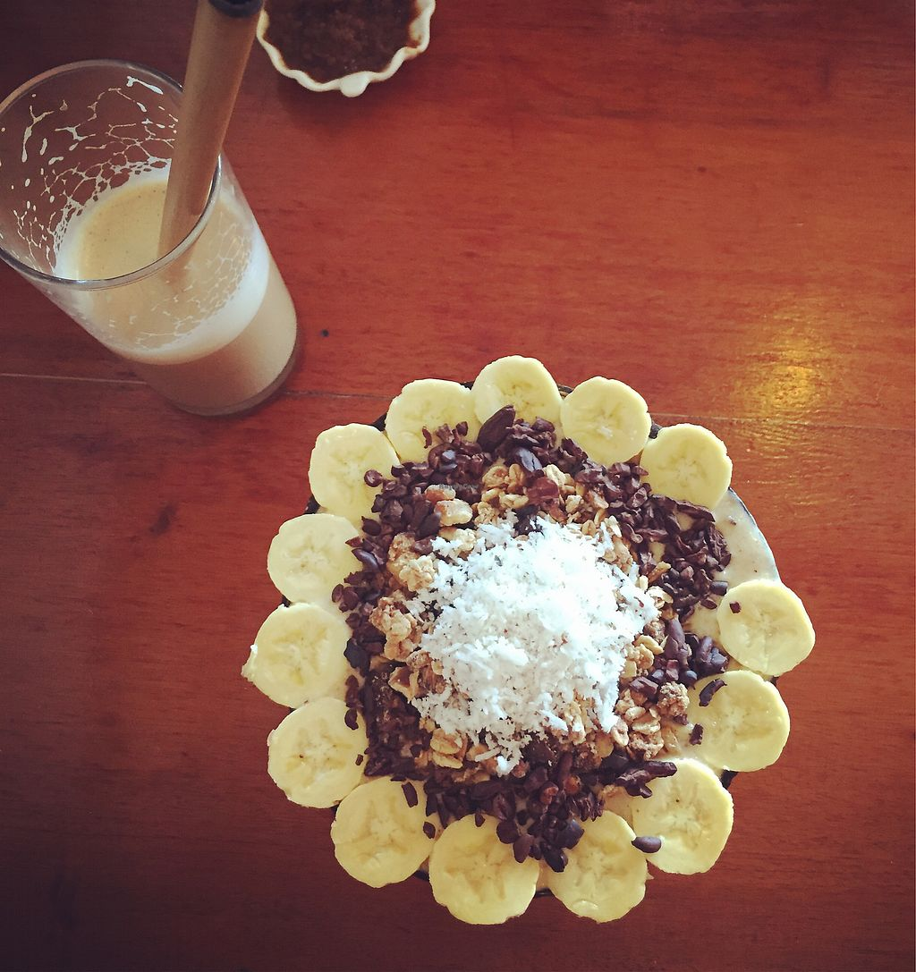 """Photo of Shaka  by <a href=""""/members/profile/themurphette"""">themurphette</a> <br/>Cloud 9 smoothie bowl <br/> December 24, 2017  - <a href='/contact/abuse/image/88198/338616'>Report</a>"""