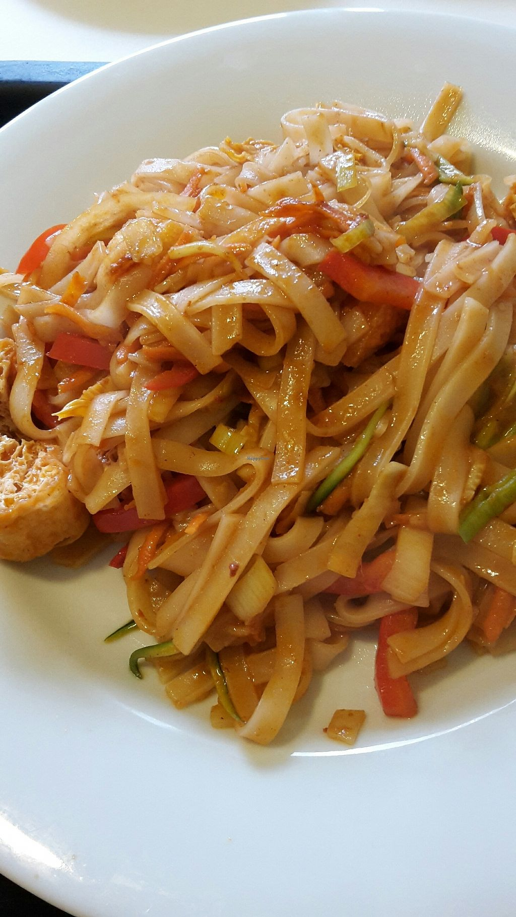 "Photo of Box Thai  by <a href=""/members/profile/vegankiwis"">vegankiwis</a> <br/>rice noodles with red curry sauce- vegan <br/> July 30, 2017  - <a href='/contact/abuse/image/88202/286840'>Report</a>"
