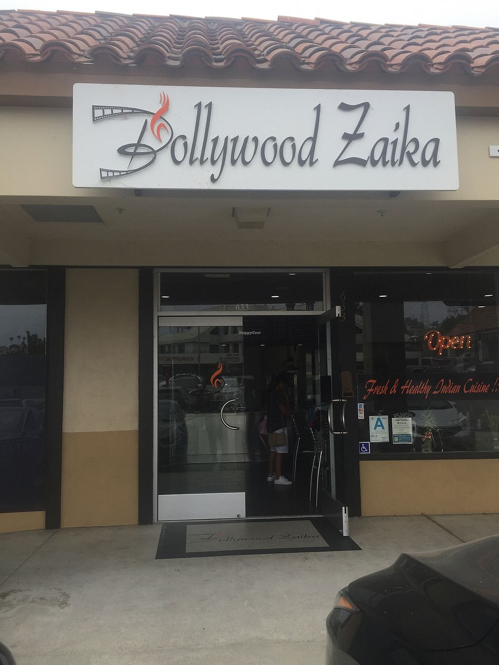 """Photo of Bollywood Zaika  by <a href=""""/members/profile/R-MV"""">R-MV</a> <br/>The front of the restaurant  <br/> August 26, 2017  - <a href='/contact/abuse/image/88230/297548'>Report</a>"""