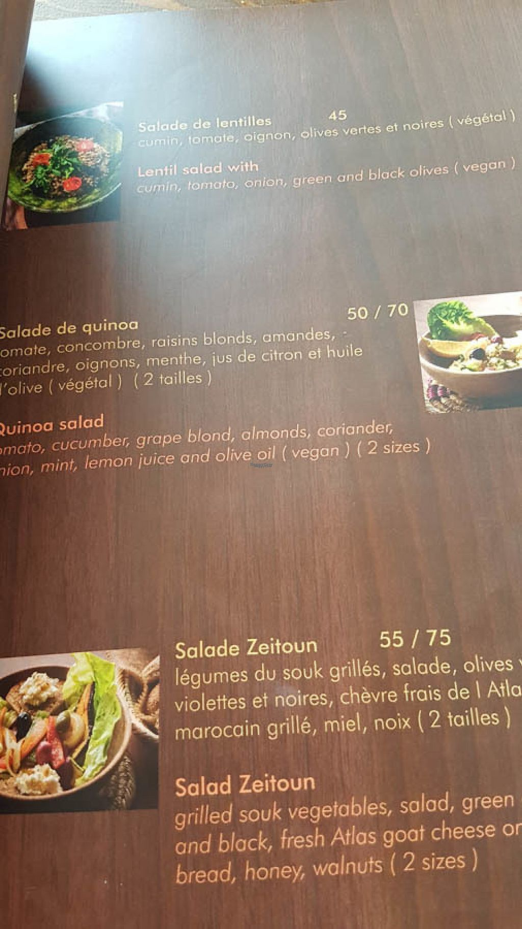 "Photo of Zeitoun Cafe  by <a href=""/members/profile/EmmaPamley-Liddell"">EmmaPamley-Liddell</a> <br/>Menu of salads <br/> March 8, 2017  - <a href='/contact/abuse/image/88282/234313'>Report</a>"