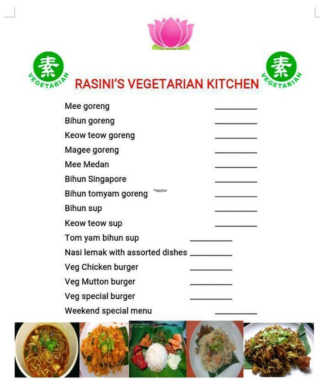 """Photo of Rasini's Vegetarian Kitchen - Restaurant 1998  by <a href=""""/members/profile/walter007"""">walter007</a> <br/>menu <br/> March 9, 2017  - <a href='/contact/abuse/image/88285/234543'>Report</a>"""