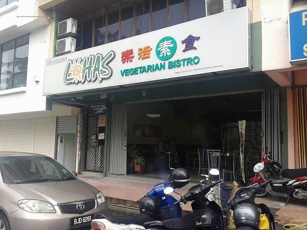 Photo of Lohas Vegetarian Bistro  by Raphael_Dane <br/>outside view of the place <br/> March 29, 2017  - <a href='/contact/abuse/image/88293/242299'>Report</a>