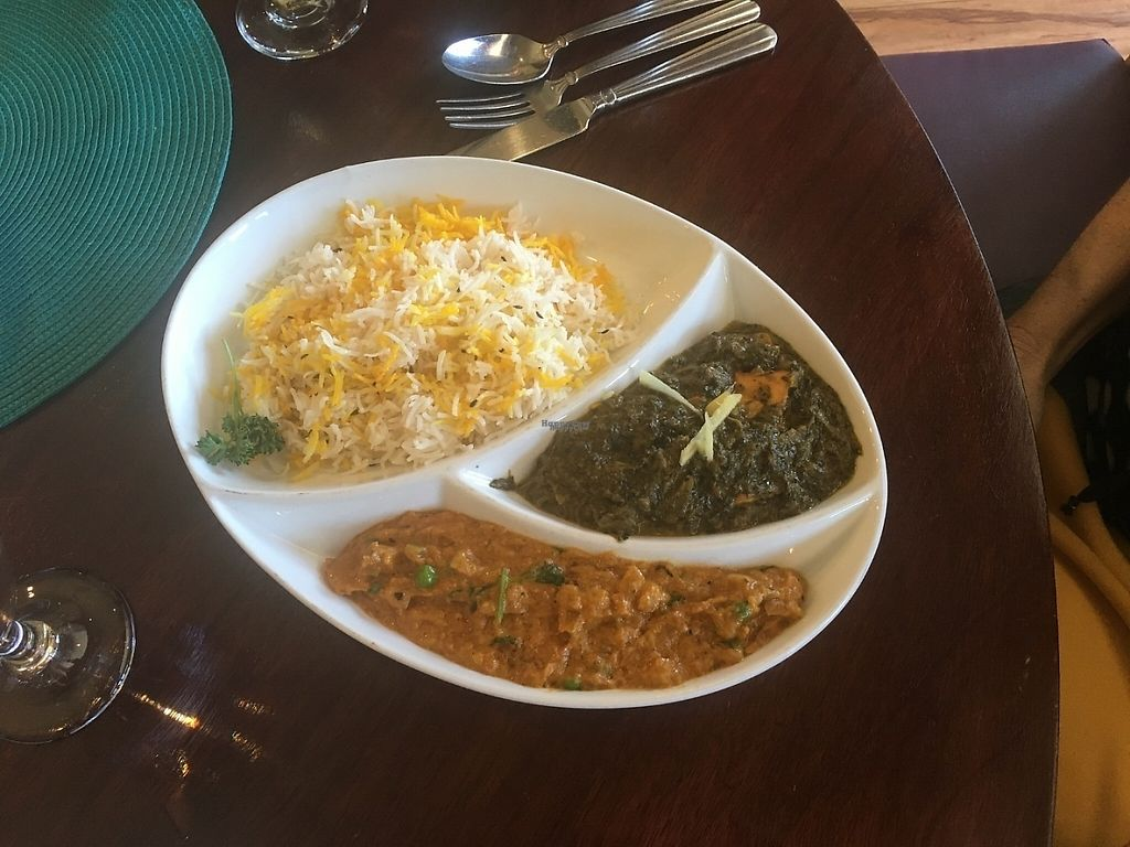 "Photo of Mayur  by <a href=""/members/profile/veganmom"">veganmom</a> <br/>Lunch special Bahrta & Spinach <br/> March 9, 2017  - <a href='/contact/abuse/image/88323/234575'>Report</a>"