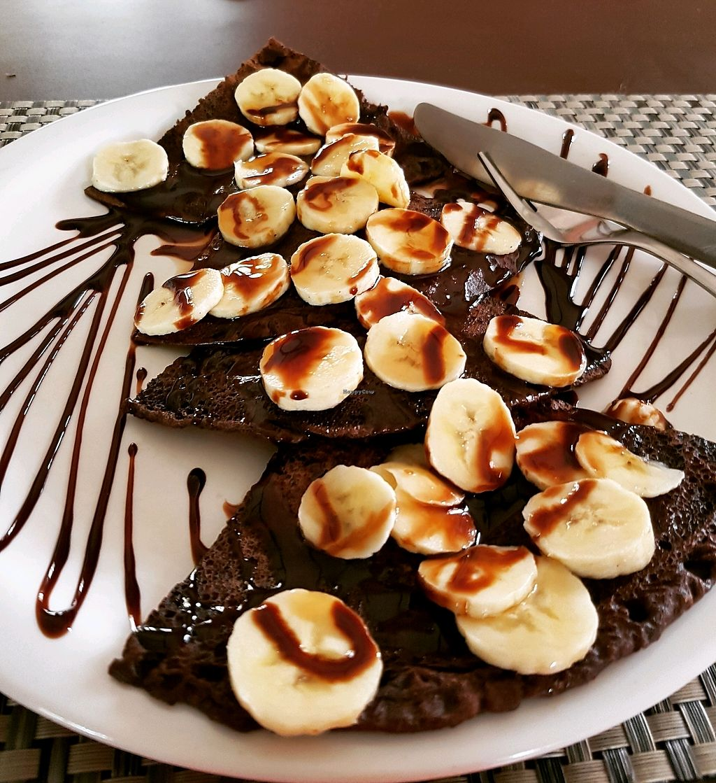"Photo of Bodhi Greens  by <a href=""/members/profile/Rachaelm"">Rachaelm</a> <br/>chocolate and banana pancakes  <br/> November 7, 2017  - <a href='/contact/abuse/image/88337/322838'>Report</a>"