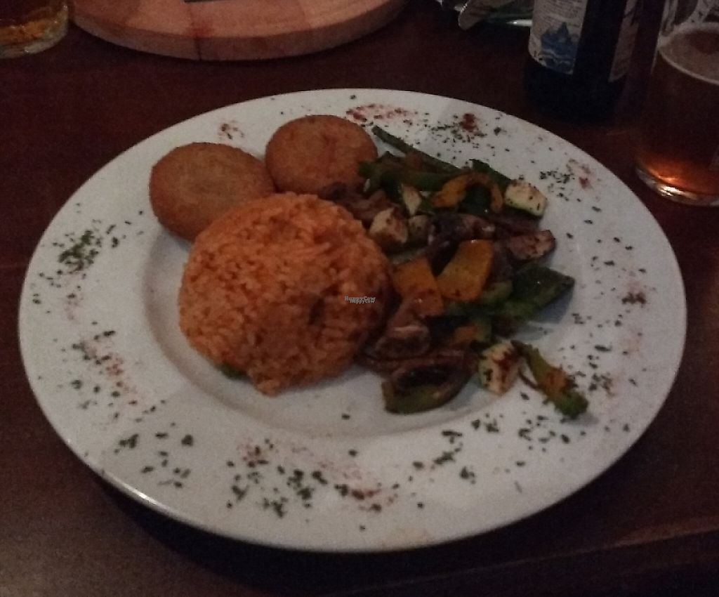 "Photo of Patrick's Pub  by <a href=""/members/profile/Happymangoman"">Happymangoman</a> <br/>soymedaillons, rice and vegetables 5,50€ <br/> March 10, 2017  - <a href='/contact/abuse/image/88382/243826'>Report</a>"