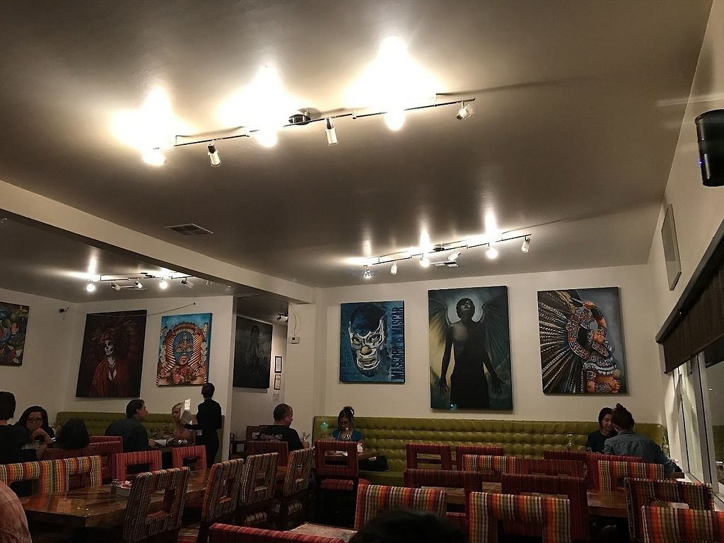 """Photo of La Santisima  by <a href=""""/members/profile/Tigra220"""">Tigra220</a> <br/>seating in the expanded area of the restaurant  <br/> March 12, 2017  - <a href='/contact/abuse/image/88388/235695'>Report</a>"""