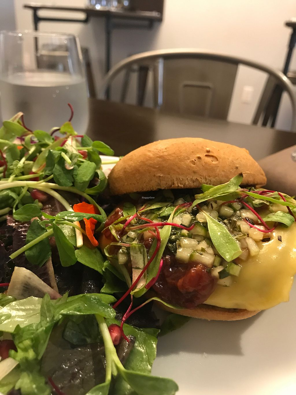 """Photo of CLOSED: Solasta Foods  by <a href=""""/members/profile/Charliepenn"""">Charliepenn</a> <br/>Mushroom burger with """"smoked gouda"""" <br/> November 13, 2017  - <a href='/contact/abuse/image/88402/325365'>Report</a>"""