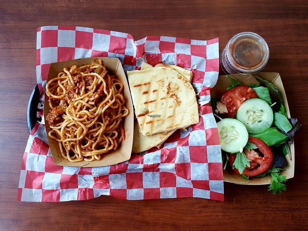 """Photo of Natural Selections Cafe  by <a href=""""/members/profile/DavidaHarris"""">DavidaHarris</a> <br/>Weekly special Davida's infamous Spaghetti! <br/> March 20, 2017  - <a href='/contact/abuse/image/88434/238790'>Report</a>"""