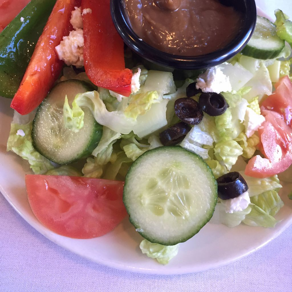 "Photo of Roxana's Restaurant  by <a href=""/members/profile/happycowgirl"">happycowgirl</a> <br/>the Roxana salad <br/> May 7, 2017  - <a href='/contact/abuse/image/88444/256930'>Report</a>"