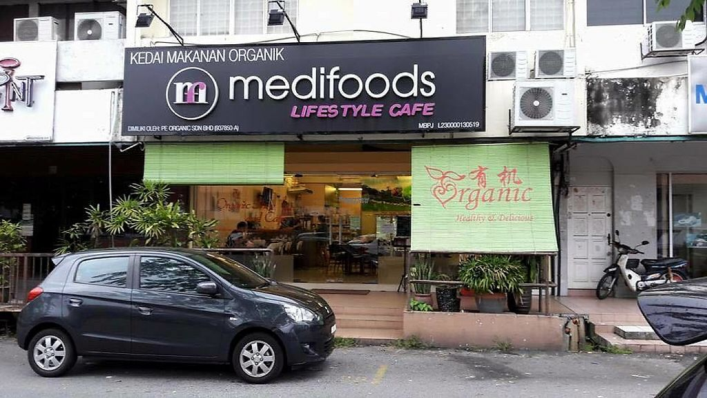 Photo of Medifoods Lifestyle Cafe  by Raphael_Dane <br/>outside view of the place <br/> March 29, 2017  - <a href='/contact/abuse/image/88446/242345'>Report</a>