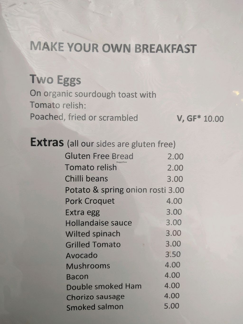 "Photo of Barclays Cafe  by <a href=""/members/profile/wildeyedgirl"">wildeyedgirl</a> <br/>not many options are actually listed as vegan on the menu, but more can be made vegan by omission <br/> March 1, 2018  - <a href='/contact/abuse/image/88458/365538'>Report</a>"