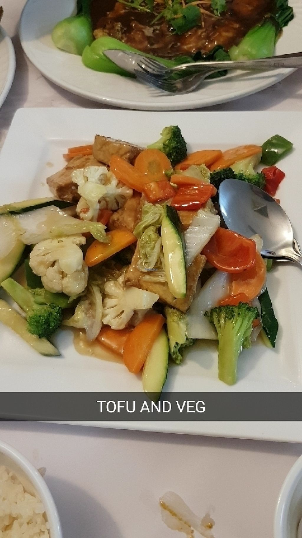 "Photo of Vegie Bowl  by <a href=""/members/profile/christy1993"">christy1993</a> <br/>Tofu and vegetables. A classic <br/> March 25, 2017  - <a href='/contact/abuse/image/88459/240495'>Report</a>"