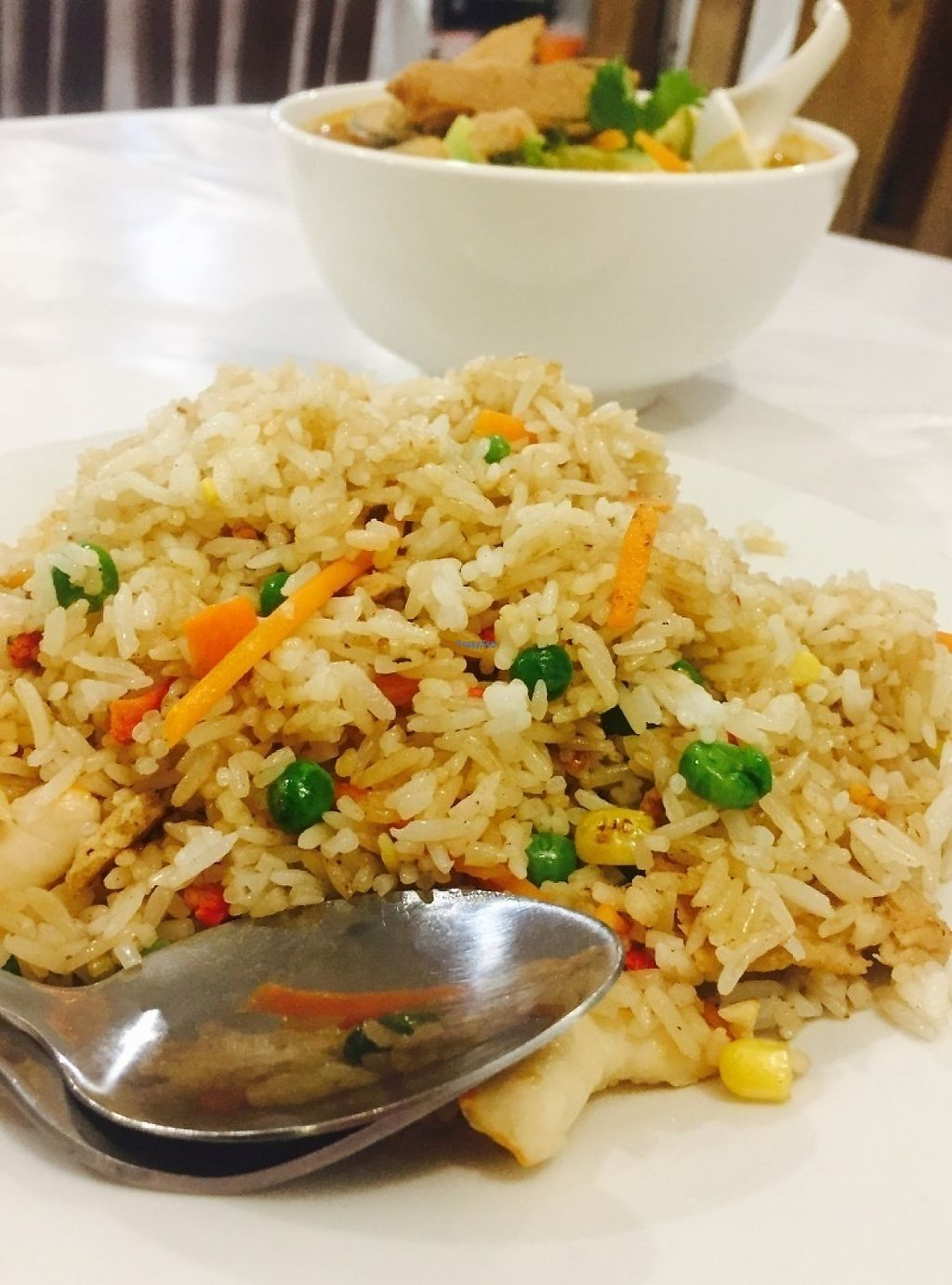 "Photo of Vegie Bowl  by <a href=""/members/profile/karlaess"">karlaess</a> <br/>Special fried rice <br/> April 13, 2017  - <a href='/contact/abuse/image/88459/247712'>Report</a>"
