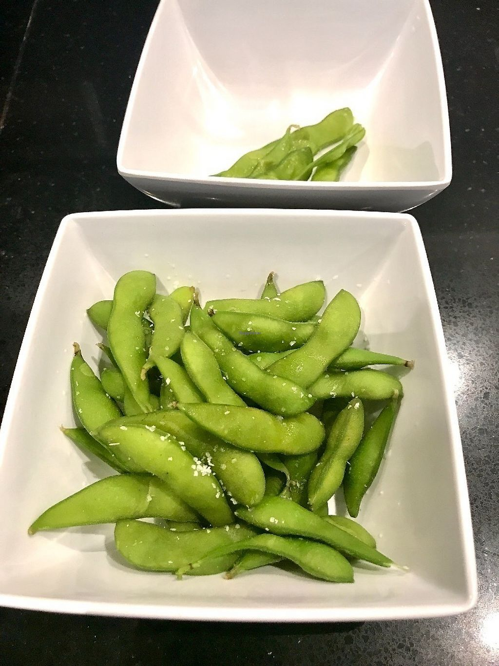 """Photo of Umaizushi - Atlanta Airport  by <a href=""""/members/profile/NR105176"""">NR105176</a> <br/>Edamame with sea salt. Standard <br/> June 1, 2017  - <a href='/contact/abuse/image/88472/264676'>Report</a>"""