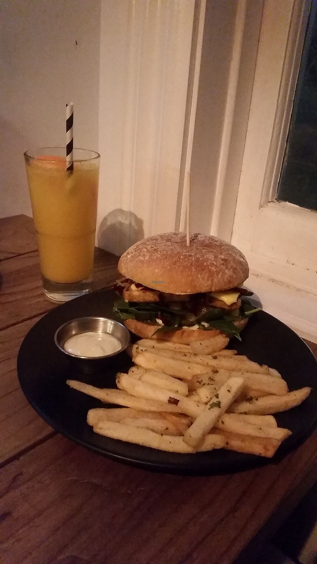 "Photo of The Botanist  by <a href=""/members/profile/AndyTheVWDude"">AndyTheVWDude</a> <br/>The Native Burger ~ Great Pineapple Salsa & Vegan Aioli! <br/> September 5, 2017  - <a href='/contact/abuse/image/88498/300996'>Report</a>"