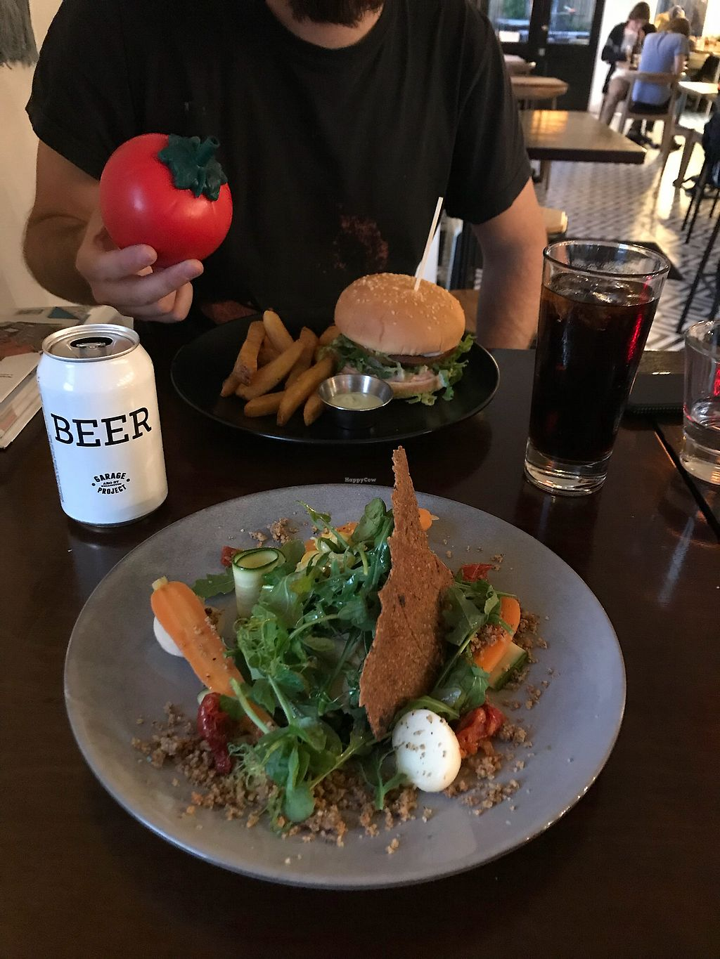"Photo of The Botanist  by <a href=""/members/profile/Paolla"">Paolla</a> <br/>Stuffed aubergine with a local beer <br/> November 19, 2017  - <a href='/contact/abuse/image/88498/327204'>Report</a>"