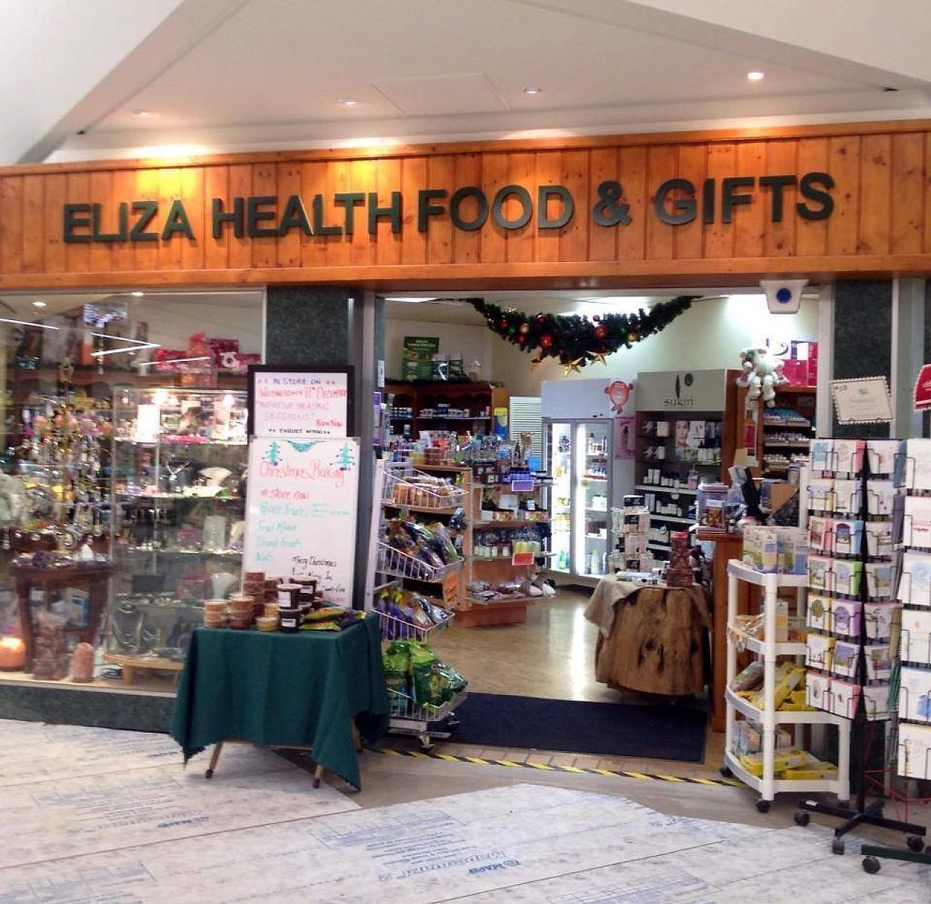 "Photo of Eliza Health Food & Gifts  by <a href=""/members/profile/karlaess"">karlaess</a> <br/>Store front <br/> March 12, 2017  - <a href='/contact/abuse/image/88504/235320'>Report</a>"