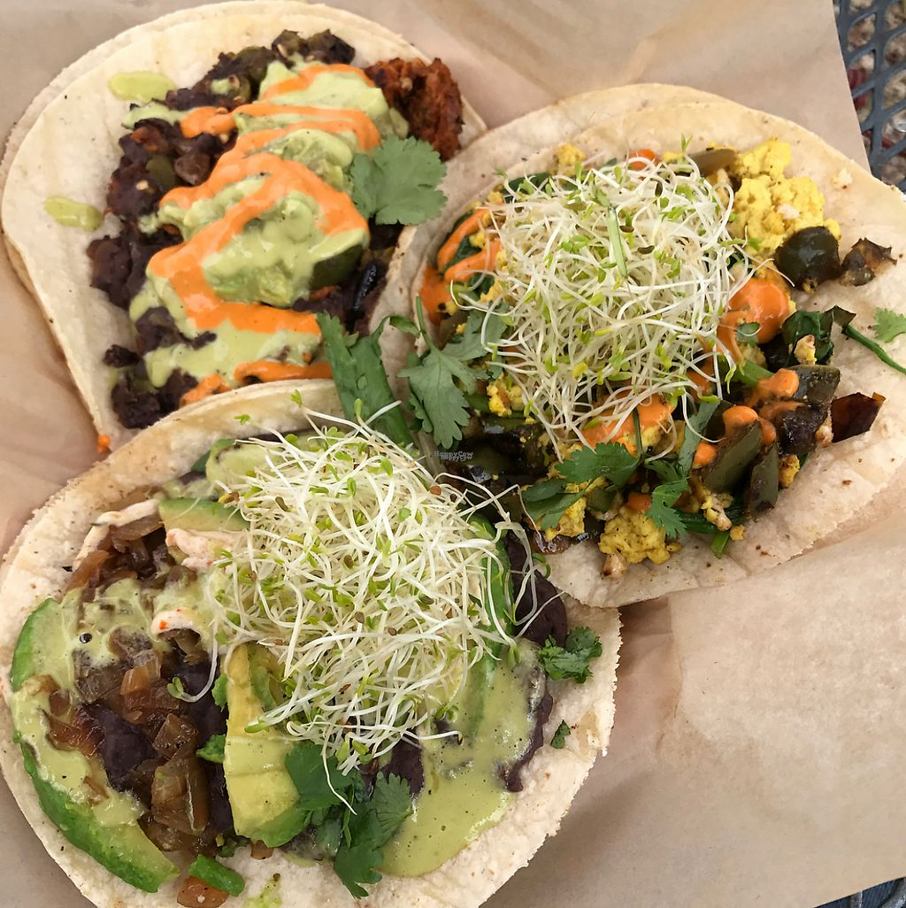 """Photo of The Vegan Nom Food Truck - E Cesar Chavez   by <a href=""""/members/profile/imjeffro"""">imjeffro</a> <br/>the Reale, the Luna, and the Diablo <br/> March 17, 2017  - <a href='/contact/abuse/image/88511/237593'>Report</a>"""