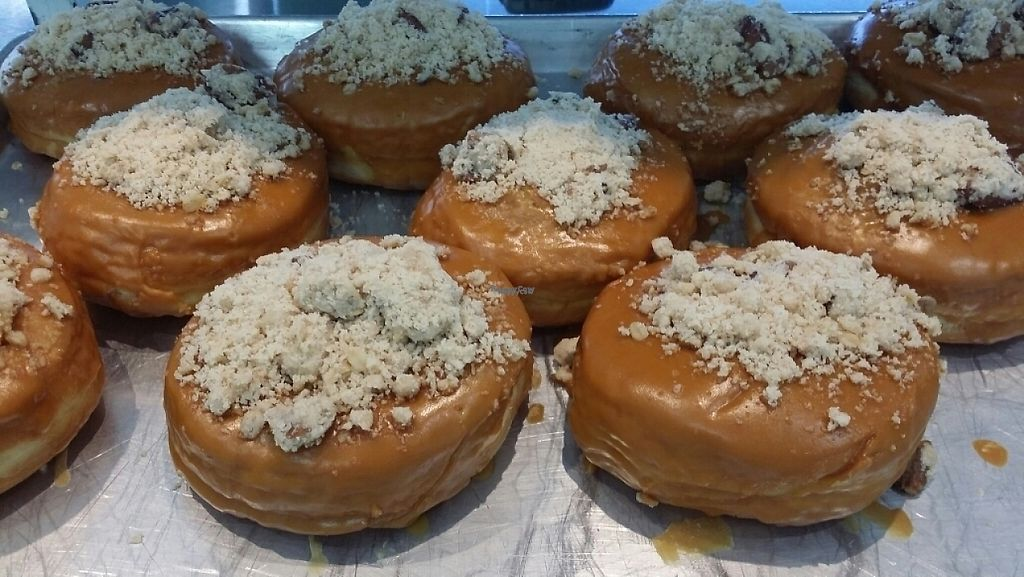 "Photo of CLOSED: Doughnut Time - Clayfield  by <a href=""/members/profile/Mike%20Munsie"">Mike Munsie</a> <br/>vegan doughnuts 1 <br/> April 19, 2017  - <a href='/contact/abuse/image/88517/249836'>Report</a>"