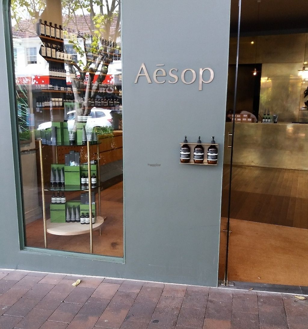 "Photo of Aesop Crows Nest  by <a href=""/members/profile/veganvirtues"">veganvirtues</a> <br/>Main entrance. Crows Nest branch <br/> March 14, 2017  - <a href='/contact/abuse/image/88522/248743'>Report</a>"